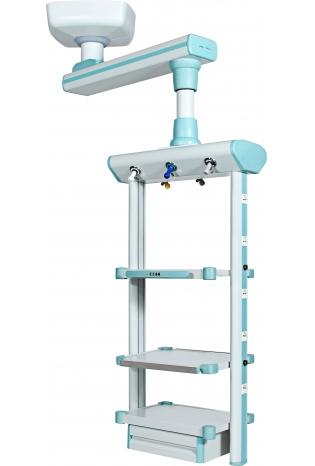 Стельова консоль з одинарним плечем - анестезіологічна головний