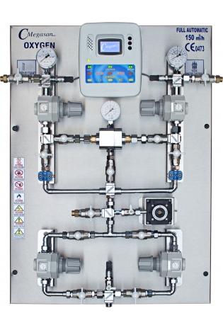 Блок перемикання резервного джерела рідкого кисню
