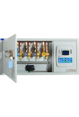 Зональний модуль контролю і сигналізації