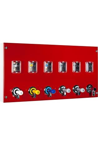 Модуль подачі газу з вентилями