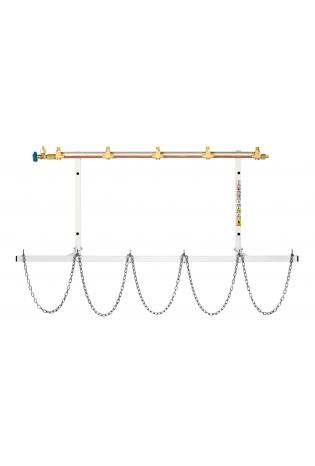 Колектори подачі для балонних рамп